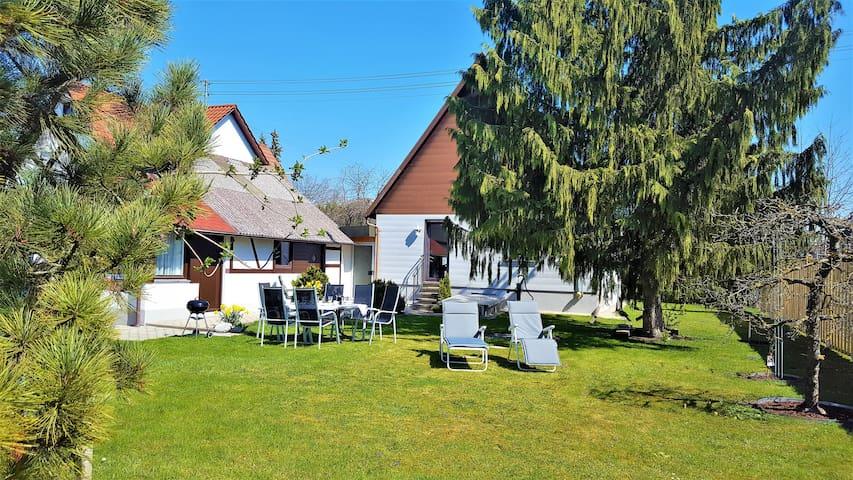 Ihr eigenes Ferienhaus mit Garten in Günzburg