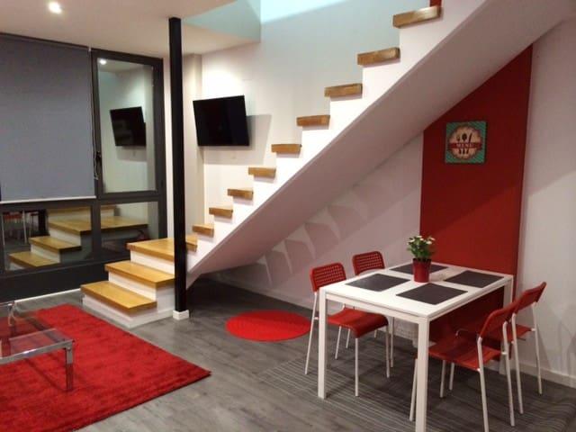 Fantastico Loft Duplex con Garaje. - Madrid - Loft