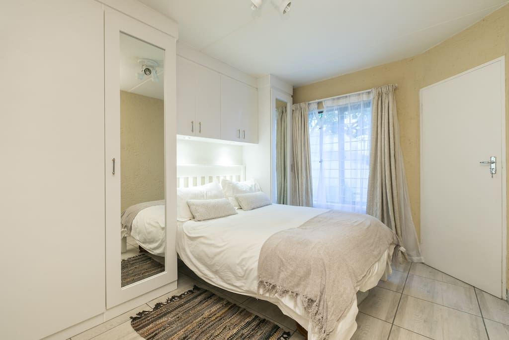 """The Sunshine Room"" with walk-in closet and ample BICS"