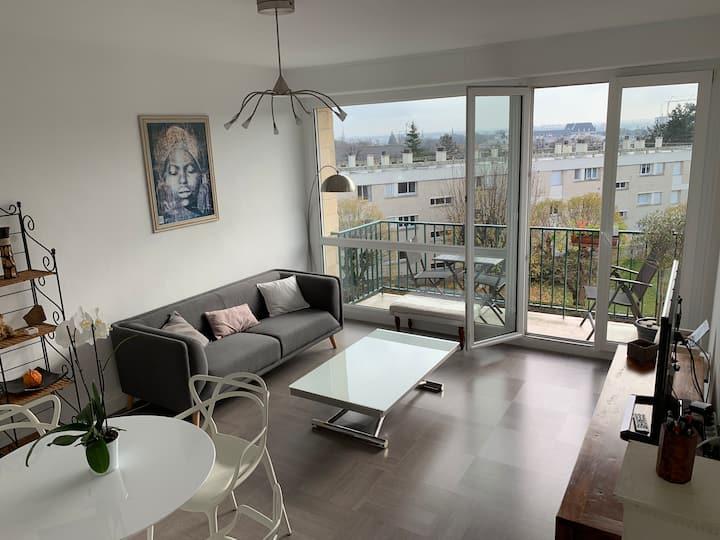 Appartement de charme, 76 m2, Quartier St GABRIEL