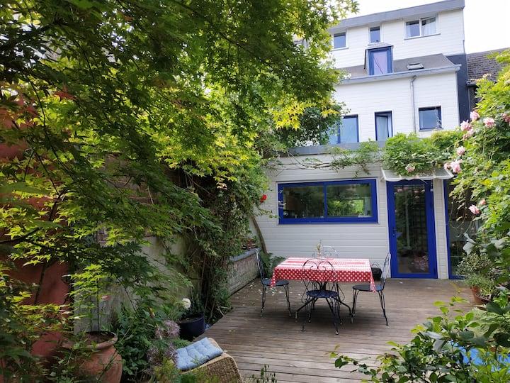 Maison avc jardin tt près de Rouen & - 100km Paris