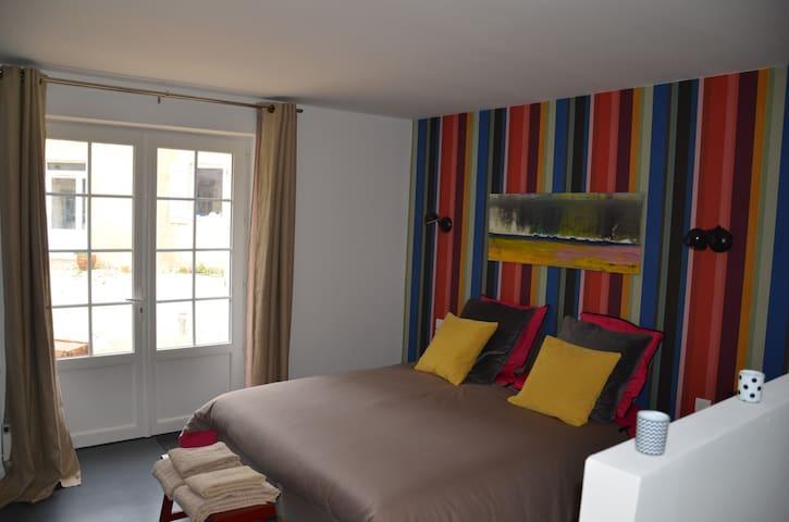 Belle chambre proche d'Arromanches - Bazenville