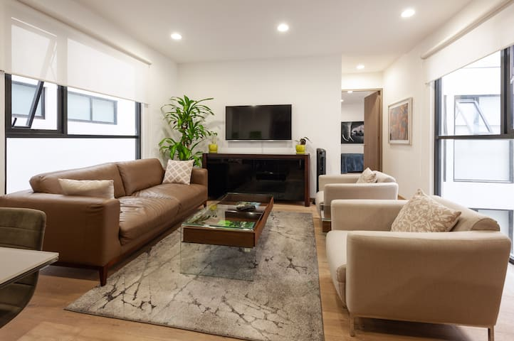 Brand new MODERN 2BR 2.5 BA Apartment in  Roma Sur