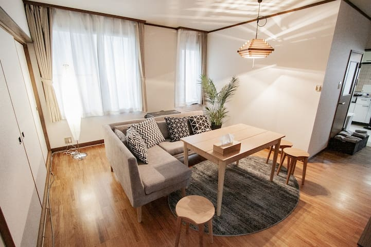 Rent the whole house at OTARU!/max12ppl/WIFI