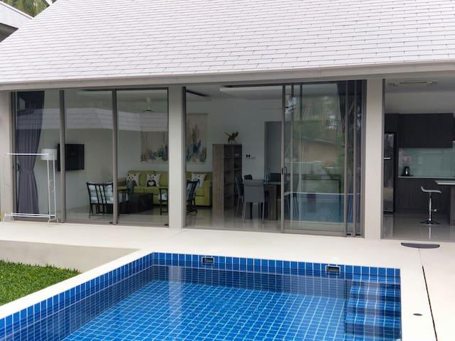 Koh Samui Uhome Villa 苏梅岛渔堂别墅 全新独立别墅,3卧3卫,私人泳池
