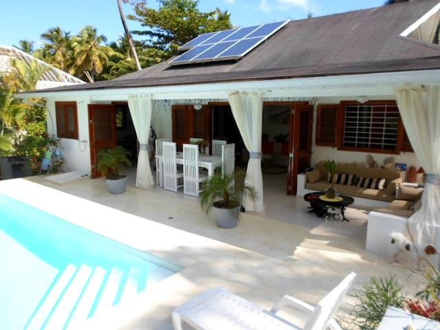 Villa les Gorgones, Playa Coson at 50 m - Samana - House