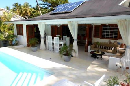 Villa les Gorgones, Playa Coson at 50 m - Samana - House