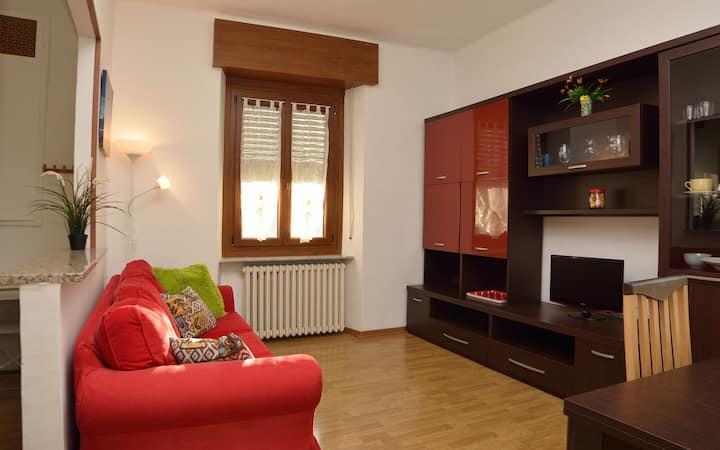 Modern three-room apartment in Ciriè