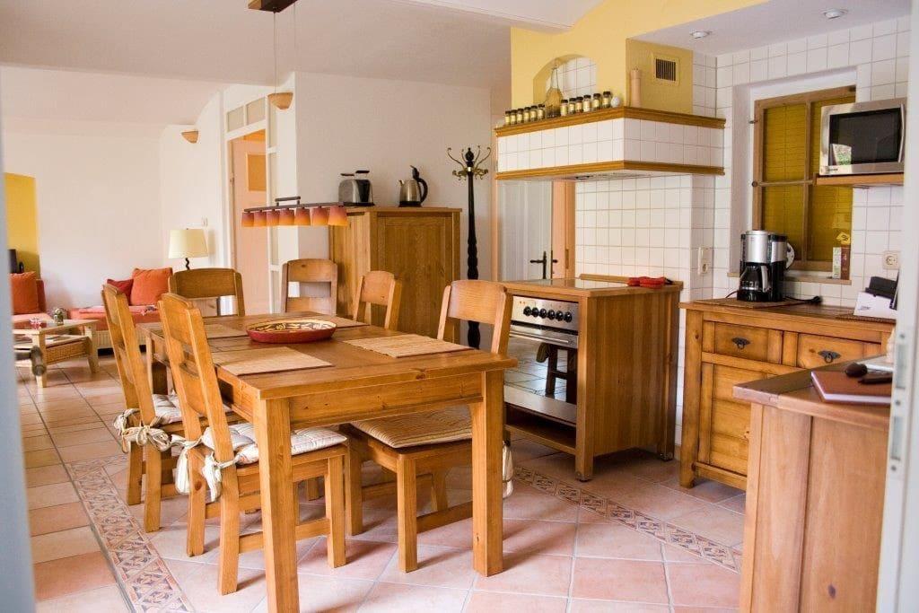 Ess- und Küchenbereich