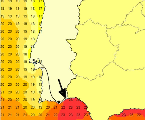 Hottest Water of Algarve