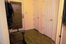 Entry hallway.