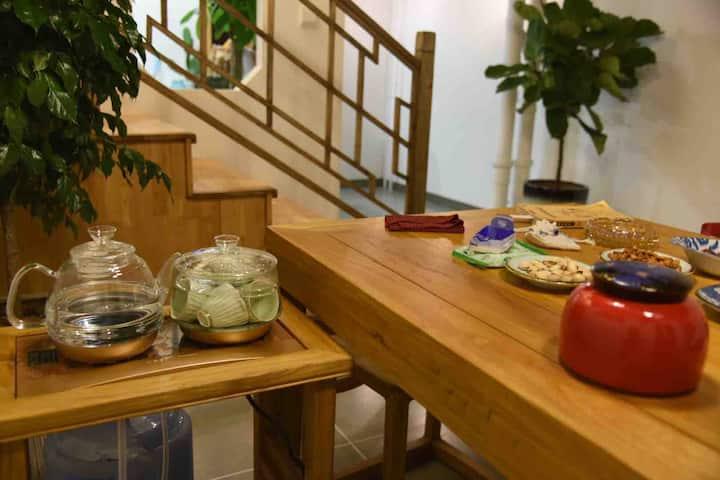 白驹小筑  泰合广场 茶文化loft复式精装整租民宿