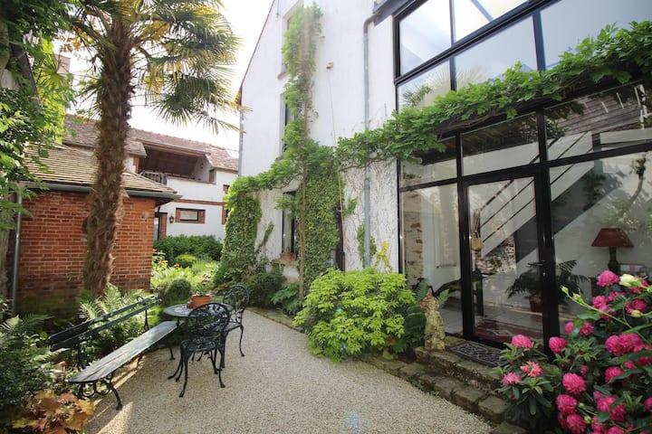 Le jardin de Mathilde, un havre de paix à Nangis
