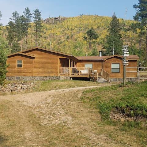 Wooded remote setting near Deadwood