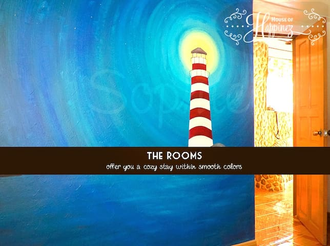 The House of Happinez: A cozy ambience (Room3) - Ranong - Hotel boutique