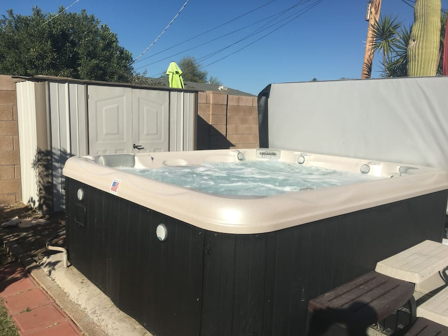 New 10 Person Hot Tub w/Sound System