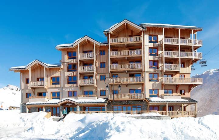 Appartement de Montagne pour 6 | Accès Piscine couverte!