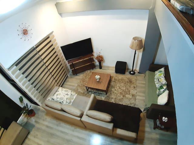 Homewood Penthouse Loft (Baguio Mountain View)