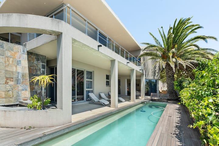Luxurious Villa with Mountain & Ocean Views
