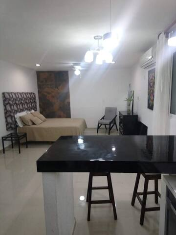 Departamento cerca de Gran Plaza Cancun