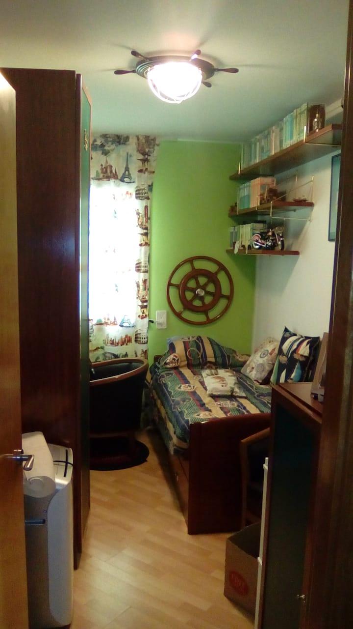 Habitacion individual completa