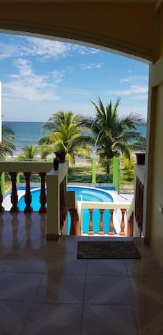 Línda casa de playa para pasar en familia