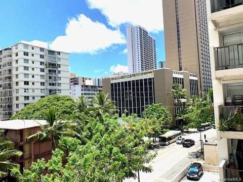 Only 3 blocks away from Waikiki Beach