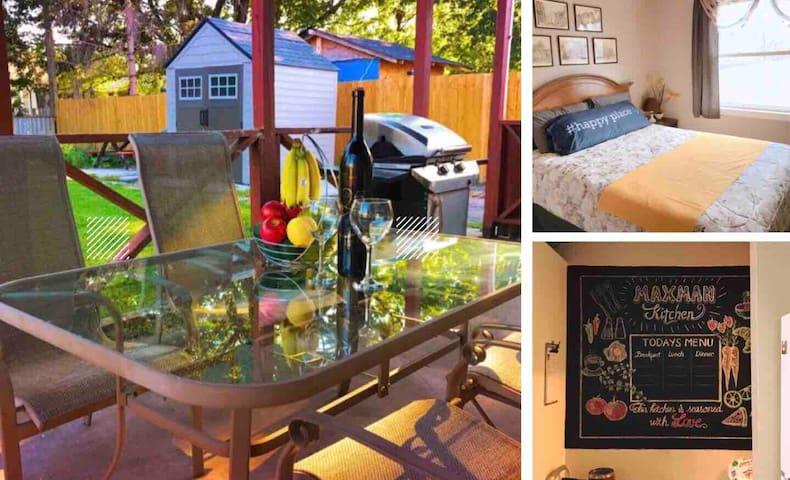 Beautiful Queen Bedroom in Niagara's Wine Country