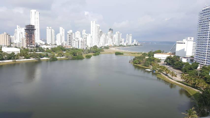 HERMOSO APARTAMENTO VISTA AL LAGUITO - Cartagena - Appartamento