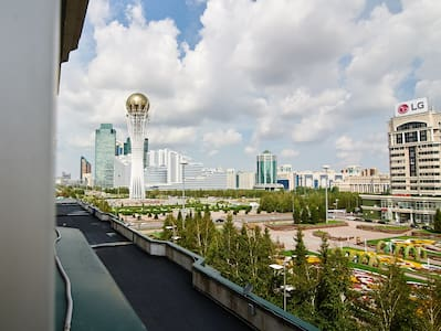 Шикарная квартира с прекрасным видом - Astana
