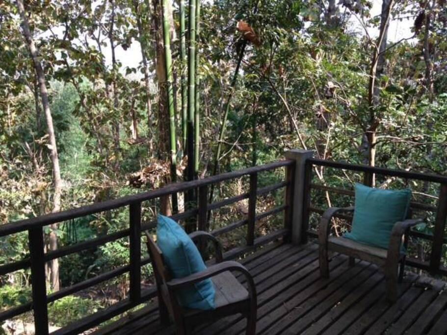Balcony of Paul's Hut