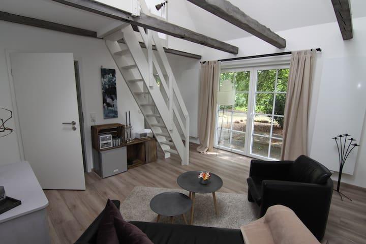 kleines ferienhaus zum wohlfühlen in salzhausen - Salzhausen - Casa