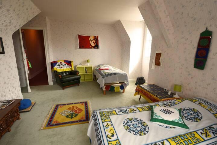 """La chambre Tibétaine """"Tashi Delek"""""""