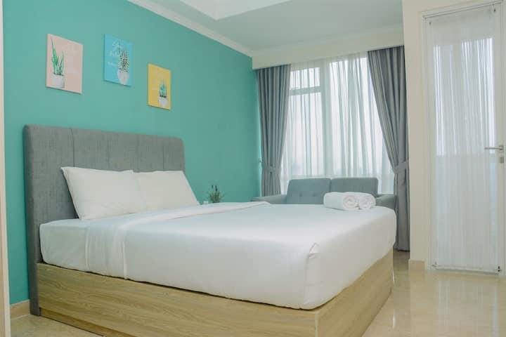 Comfortable Design Studio Menteng Park Apartment