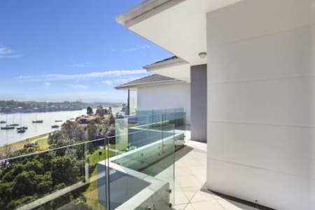 Water view apartment 15min to CBD private bathroom - Chiswick - Daire