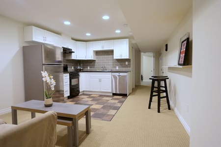 Family friendly bsmt suite near West Edm Mall