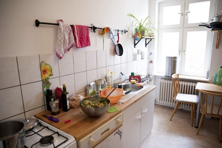 Big, cosy room in a green and calm area of Berlin - Berlin - Wohnung