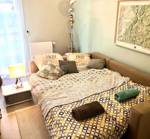 Chambre à la campagne proche d'Annecy + petit dej
