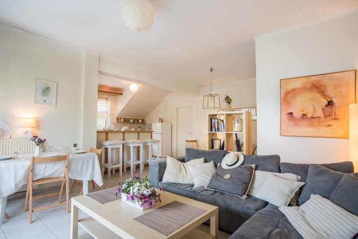 Unique apartment on Kastellokampos Rio Beach