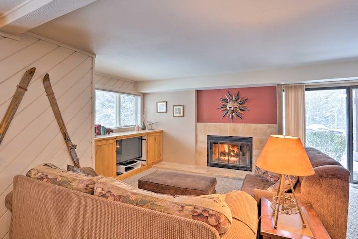 NEW! Condo w/ Fireplace <2 Mi to Sun Valley Resort