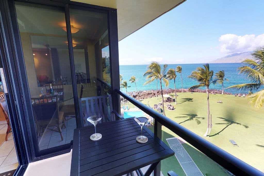 Gorgeous Oceanfront View!