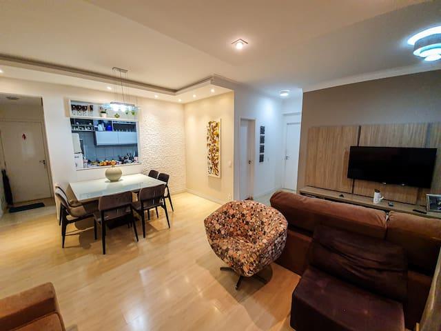 Apartamento Campolim | Super aconchegante