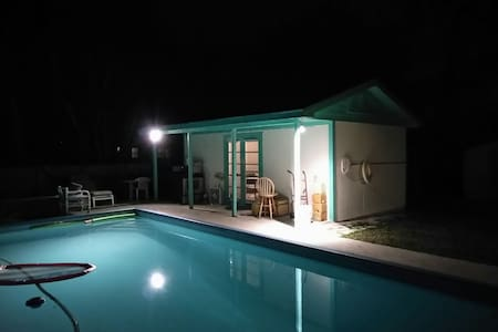 Cozy Pool House Close to Beaches - Jupiter - Casa