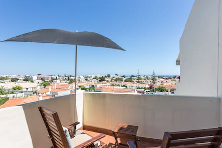 Sea view apartment close to the beach with balcony - Albufeira
