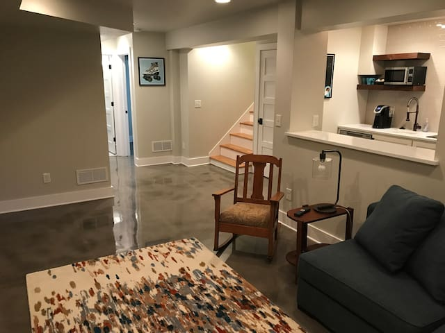 1BR apartment in Capitol Hill, near Cheesman Park