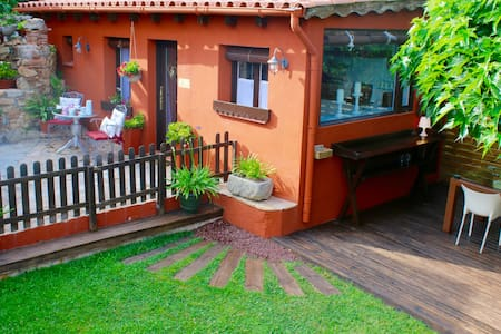 Garden house: Casa Rosa. - Santa Cristina d'Aro - Ház