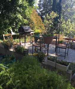 Private backyard 2BD in-law unit - Castro Valley - Apartamento