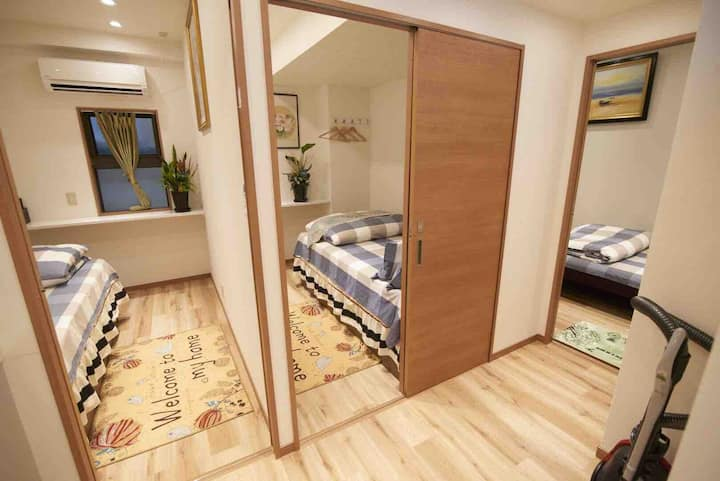 Shinjuku //Three bedroom //4 min on foot to subway