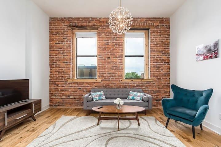 Stunning Loft apartment in Downtown Columbus!