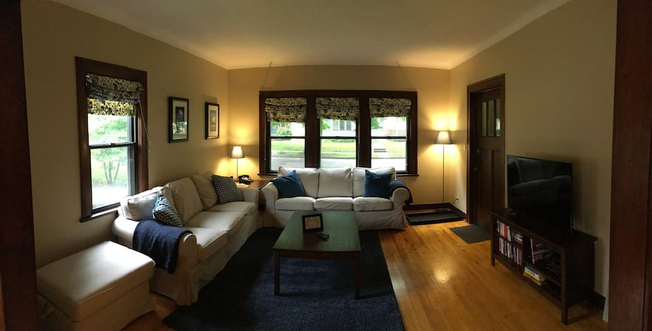 Clean & Comfy Home in the Heart of the Twin Cities